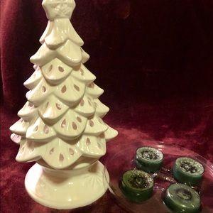 Yankee candle tree gift set